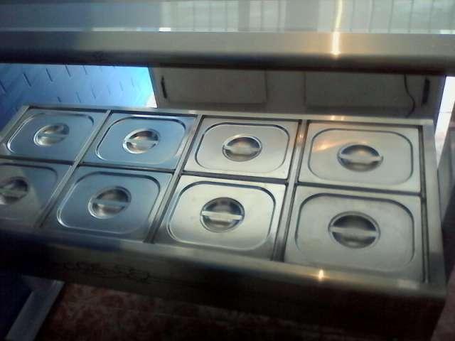 carrinho termico de salada da gastromaq