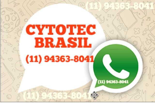 VENDO CYTOTEC Minas GeraisBelo Horizonte  ENTREGA MOTOBOY