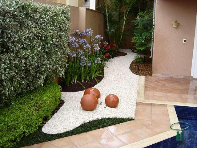 serviços de jardins com pedras e floreiras - Kaza sanfer...