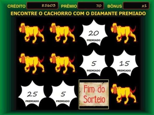 CAÇA NIQUEL DIAMOND DOG ORIGINAL PARA PC