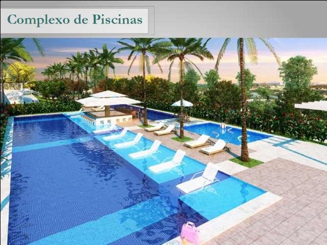 Apartamento Parque Ponta Negra Reserva das Praias 2 e 3 dormitórios/suíte/integrado ao Shopping Pont