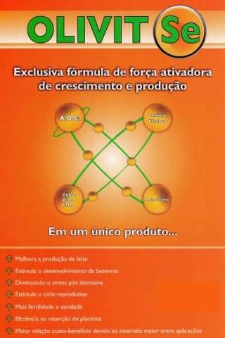 Olivit SE Frasco 500ml - Hormônio Para Aumento de Leite e Engorda de Equinos.