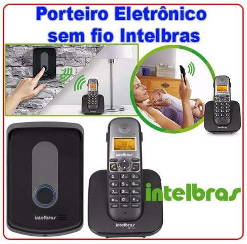 Porteiro Eletrônico sem fio Intelbras - Interfone sem fio
