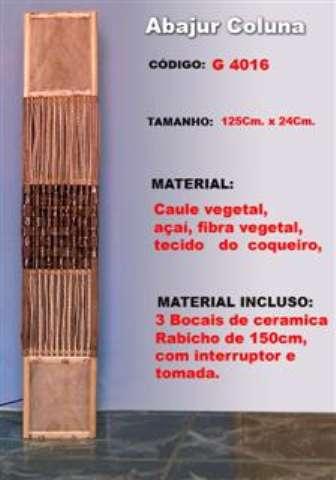 Abajur coluna