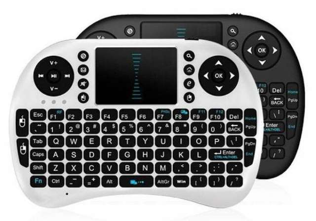 Mini Teclado Wireless Sem Fio Tv Box Hdtv Smart Tv Keyboard Frete Grátis