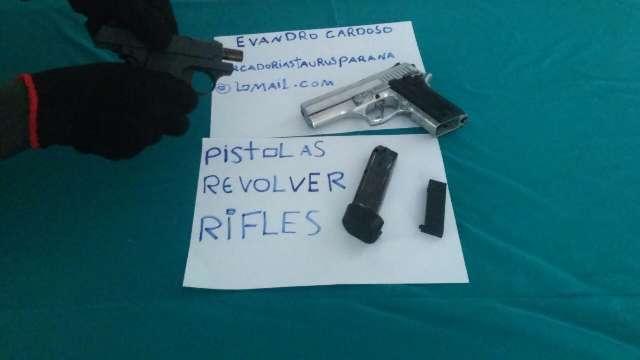 comprar armas de fogo revólver pistolas rifles