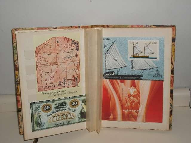 selos coleção nacional