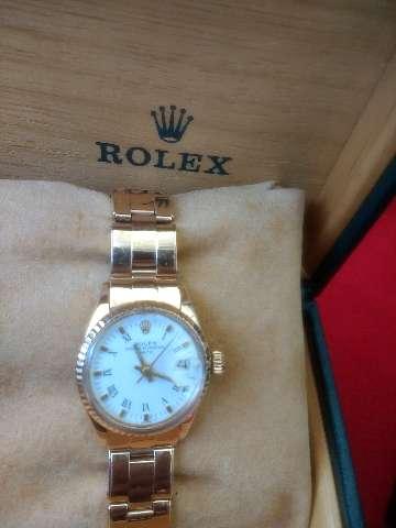 Relógio marca Rolex modelo lerd osyter ouro