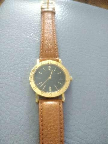Relógio marca byugari em ouro amarelo BB 33