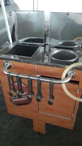 Aluguel de carrinho de cachorro quente em bh