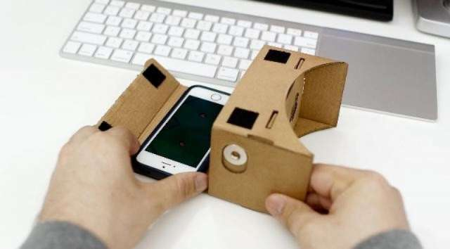 Google Cardboard Óculos de Realidade Virtual Frete Grátis