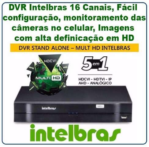 DVR Stand Alone Multi HD Intelbras MHDX-1016