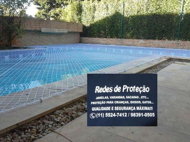 Redes de Proteção  na Rua Itapaiuna, Villaggio Panamby, (11)  98391-0505