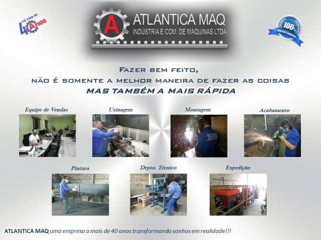 Maquina de Fazer Blocos de Concreto Pneumatica e Hidraulica