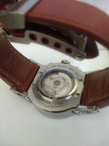 Relógio marca jorg Hyser caixa de aço automático Cronógrafo