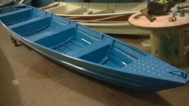 Canoas em Alumínio Naval