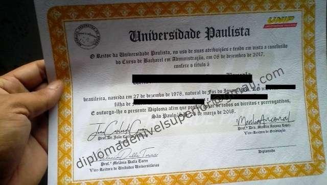 ADQUIRA SEU DIPLOMA SUPERIOR, TÉCNICO, PÓS GRADUAÇÃO, Vendo Diploma Reconhecido Pelo Mec – Adquirir