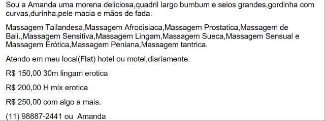 Massagista na Vila Nova Conceição