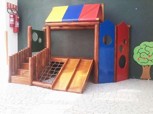 Playgrounds em madeira tratada Curitiba