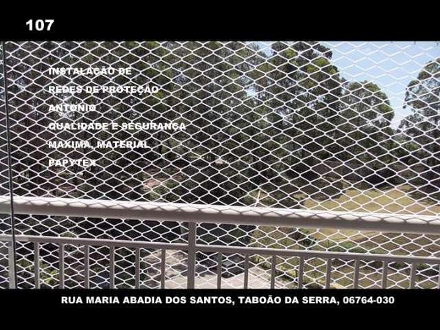 Redes e Telas de Proteção no Taboão da Serra, (11)   98391-0505