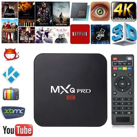 Smart Tv Ott Box Android 4k Ultra Hd