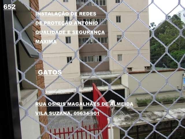 Redes de Proteção na Vila Suzana, (11)    98391-0505
