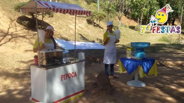 Eventos com carrinho de pipocas e algodão doce profissionais