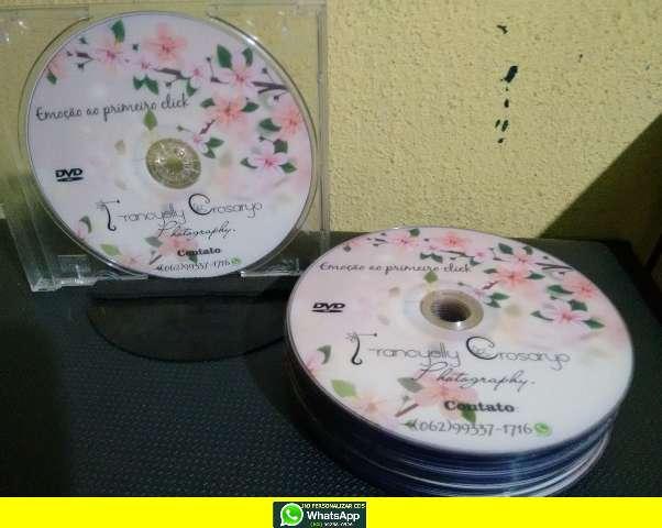 DVDS E CDS PERSONALIZADOS E DUPLICADOS