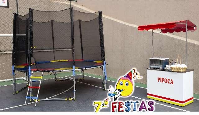 A Sétima Festas tem os melhores e mais seguros brinquedos  e carrinhos de lanches do mercado