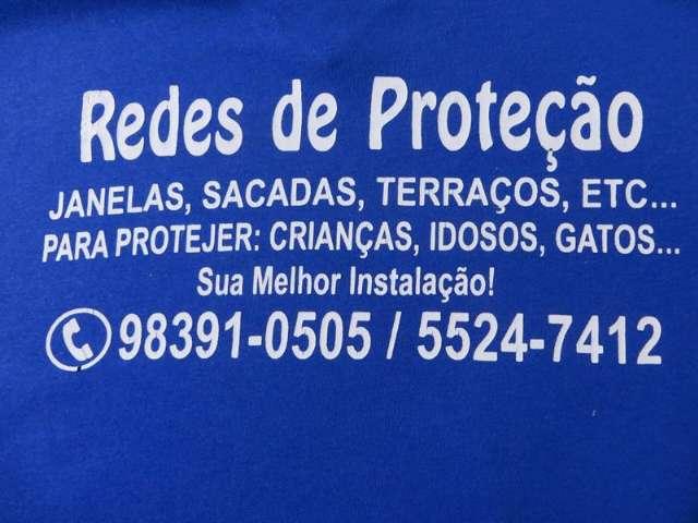 Redes de Proteção na Vila Sonia, (11)  5524-7412