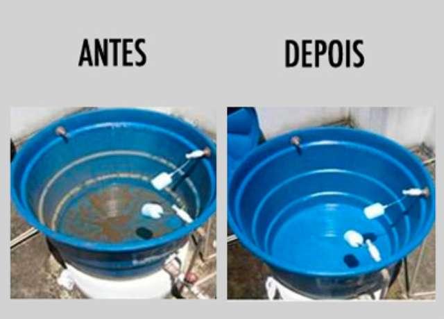 LIMPEZA DE CAIXA D'AGUA CISTERNA RESERVATÓRIOS COM ROBÔ *ROBOTIZADA