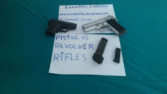 comprar armas de fogo revólver rifles pistolas 380