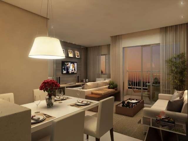 Apartamento Life Flores 1,2 e 3 dormitórios/suíte/Santos Drumond/próximo ao Instituto Denizard Rivai