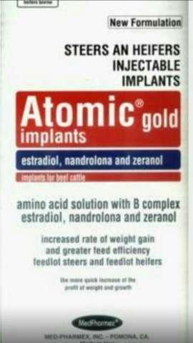 hormonio atomic gold