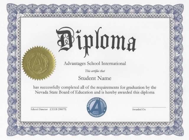 Diploma Ensino Médio