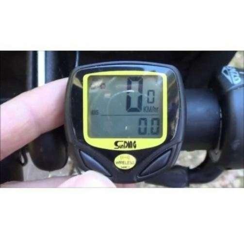 Velocimetro Wireless a Prova dAgua Bike Bicicleta Relogio Ciclocomputador