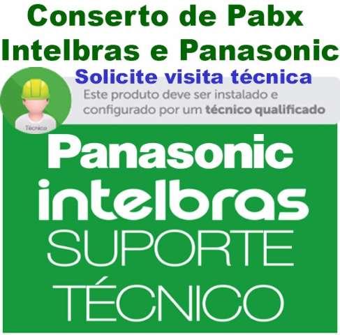 INSTALAÇÃO de PABX - DIGITAL E1 - DDR- Intelbras - Panasonic.
