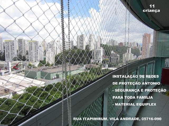 Redes de Proteção na Vila Andrade, (11)   98391-0505