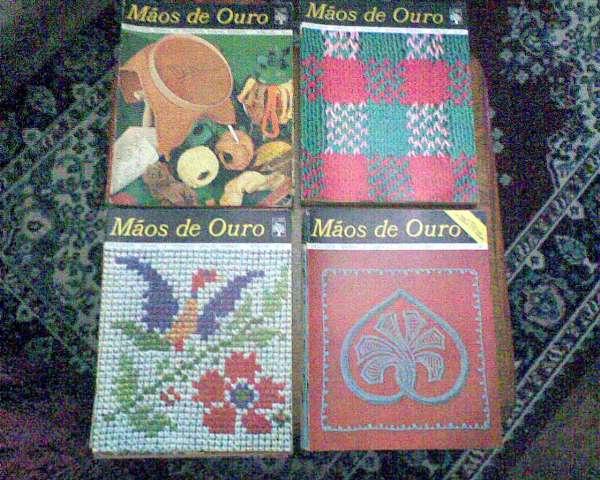 coleção de revistas maos de ouro - numero 01 a 68 - londrina - 43-98452-9185