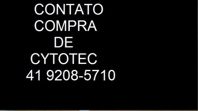 Cytotec Missoprostol venda em Paraná/Curitiba