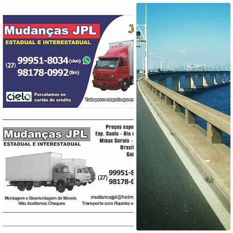 Mudança e transporte estadual e interestadual 27-999518034.vivo