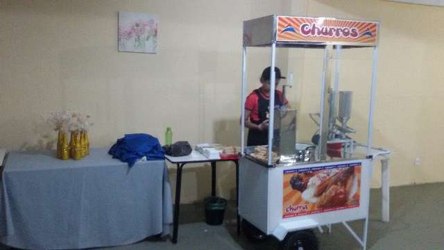 Festival de churros é com a Sétima Festas e Eventos