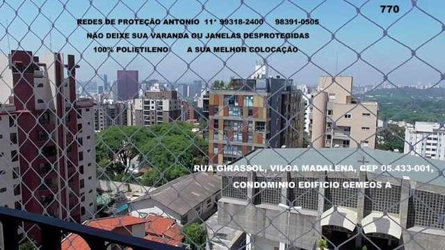 Telas de Proteção na Vila Madalena, (11)   5524-7412