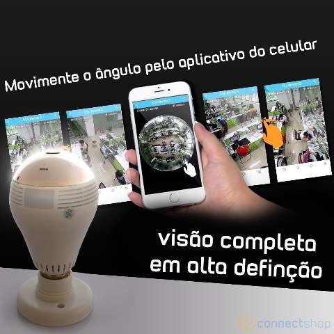 Câmera Espiã 360 Seguranção 24 horas sem Mensalidade