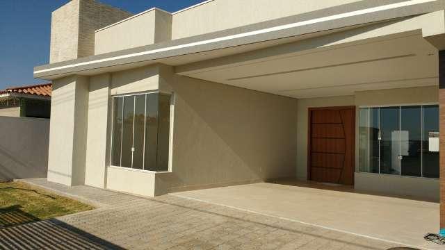 Casa 3 Suites Nova Moderna Sobradinho Churrasqueira Condomínio Escriturado Alto da Boa Vista