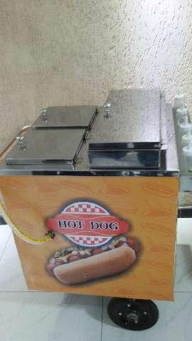 Carrinho de cachorro quente! Uma ótima opção em eventos.