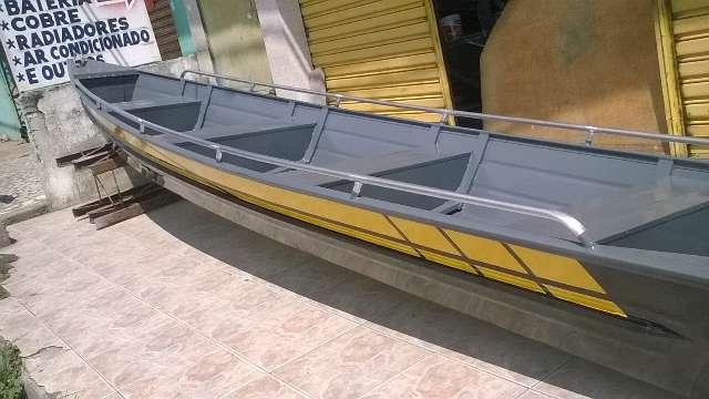 Canoas em Aluminio