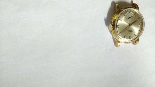 Relógio Omega ouro automatico bomber