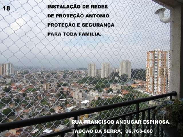 Redes de Proteção em Taboão da Serra, Rua Francisco Andugar Espinosa, (11) 5524-7412