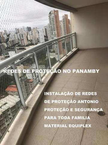 Redes de Proteção no Panamby, Qualidade e Segurança Maxima, Material Equiplex, (11)   98391-0505